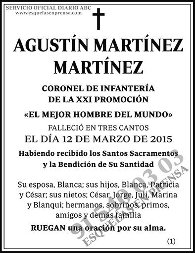 Agustín Martínez Martínez